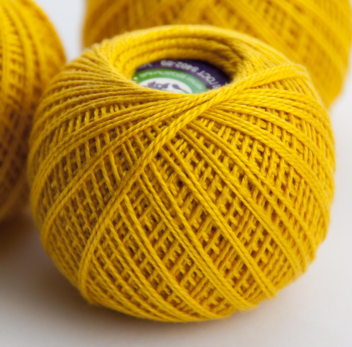 Ирис горчично желтый 0306