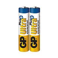 Батарейка GP Ultra Plus alkaline ААА (LR3, 24АUP-S2)