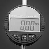 Цифровий індикатор годинникового типу ИЧЦ 0-12,7 мм (0,01 мм) з вушком, фото 3
