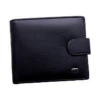 Мужской кошелек Dr. Bond из натуральной кожи. Портмоне мужское. Черный и коричневый цвет.