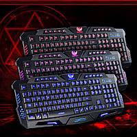 Игровая Клавиатура с подсветкой Tricolor M200, фото 1