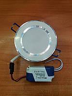 Светильник светодиодный встраиваемый Feron AL527 5W белый (LED панель)