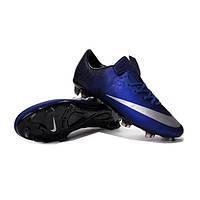 Бутсы Nike Mercurial Vapor X CR FG синие