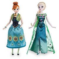 Disney Frozen Набор классических кукол дисней Принцессы Анна и Эльза - Холодное торжество