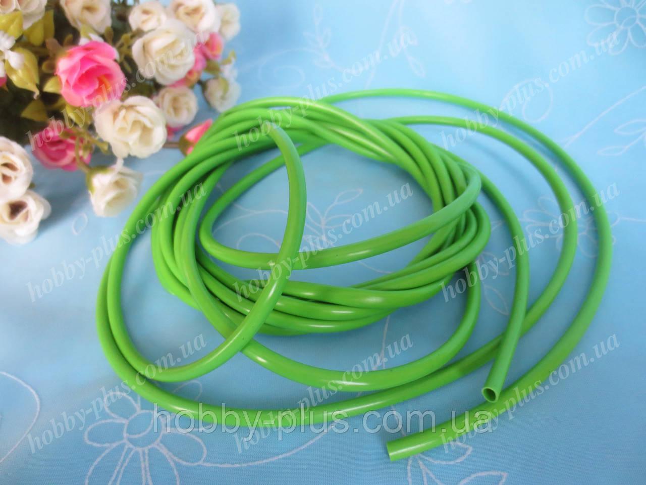 Флористический рукав, (стебель), цвет зеленый, 1 м, d 4 мм.
