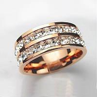 Мужское кольцо Cartier с цирконами