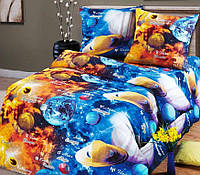 Комплект детского постельного белья ПАРАД ПЛАНЕТ в детскую кроватку бязь
