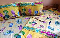 Комплект детского постельного белья ФИКСИКИ, ткань бязь (Турция)