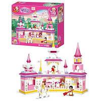 Великолепная игрушка: Замок принцессы, конструктор Sluban M38-B0251