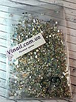 Стразы аналог SWAROVSKI ss10 Crystal  АВ (1440 шт), фото 1
