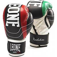 Боксерские перчатки Leone Revolution Black 12 ун.