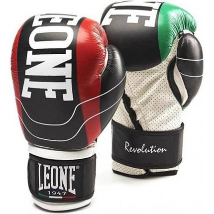 Боксерские перчатки Leone Revolution Black 14 ун., фото 2