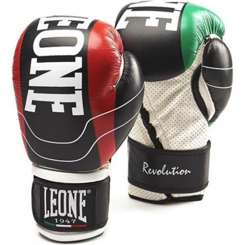 Боксерские перчатки Leone Revolution Black 16 ун.