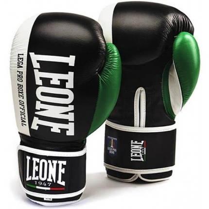 Боксерские перчатки Leone Contender Black 18 ун., фото 2