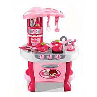 """Игровой набор для сюжетно-ролевой игры """"Кухня"""" с плитой розовый"""