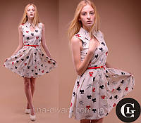 Платье 40197 Кошечки Турция