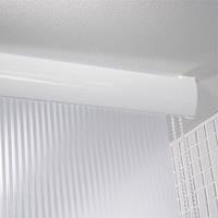 Карниз для штор потолочный Spirella ROLO MECHANO белый