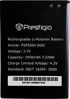 Аккумулятор для Prestigio MultiPhone 5504 DUO оригинальный, батарея Prestigio PSP5504 DUO