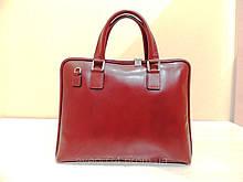 Червона сумка-портфель