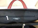 Червона сумка-портфель, фото 3