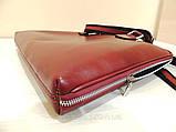 Червона сумка-портфель, фото 4