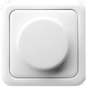 Светорегулятор диммер для ЛН и ВВГЛ 60-400 Вт белый Regina Polo Hager