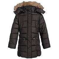 Зимнее пальто-куртка для девочки Weatherproof размер 7\8