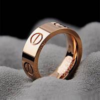Женское кольцо Cartier (реплика) 18k позолота, 16 размер