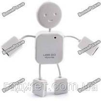 USB-Хаб Человечек 4 порта, фото 3