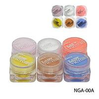 Набор цветных акрилов Lady Victory NGA-00А, 6 цветов