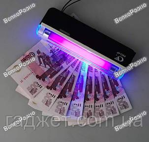 Карманный детектор валют, ультрафиолетовый ручной детектор валют PRO 4, фото 2