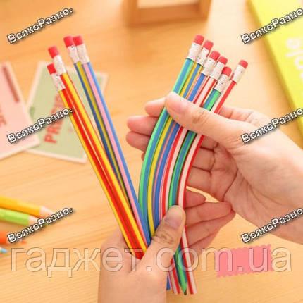 Резиновый гибкий  карандаш, фото 2