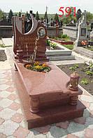Эксклюзивный памятник из красного гранита