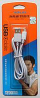 Шнур ARUN 1200mm USB Cable