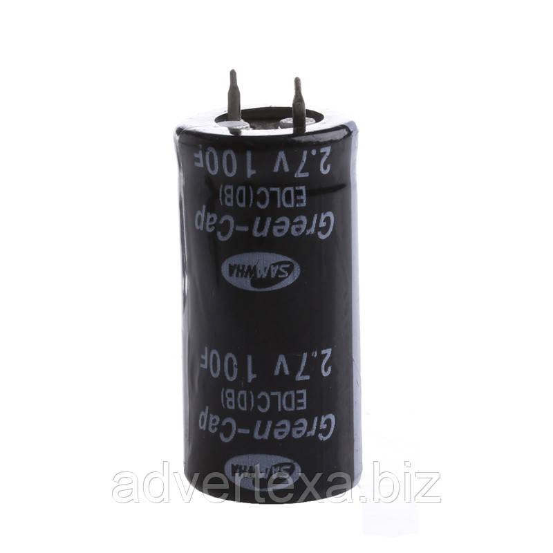 Ионистор супер конденсатор 2.7 В 100 фарад