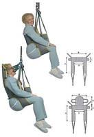 Cтропы пациента Dress Toileting Sling Invacare