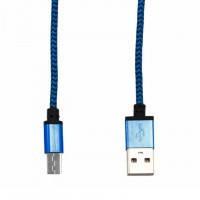 USB кабель Micro тканевый