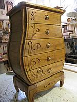 Тумба дубовая.мебель из натурального дерева на заказ