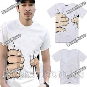 "Мужская футболка ""большая рука"""