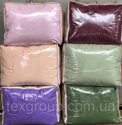 Плед-одеяло меховое Мишки Травка с наполнителем халофайбер 200*230, фото 2