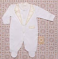 . Человечки для новорожденных в Украине. Теплый для мальчика на выписку,в наличии 56,62рост
