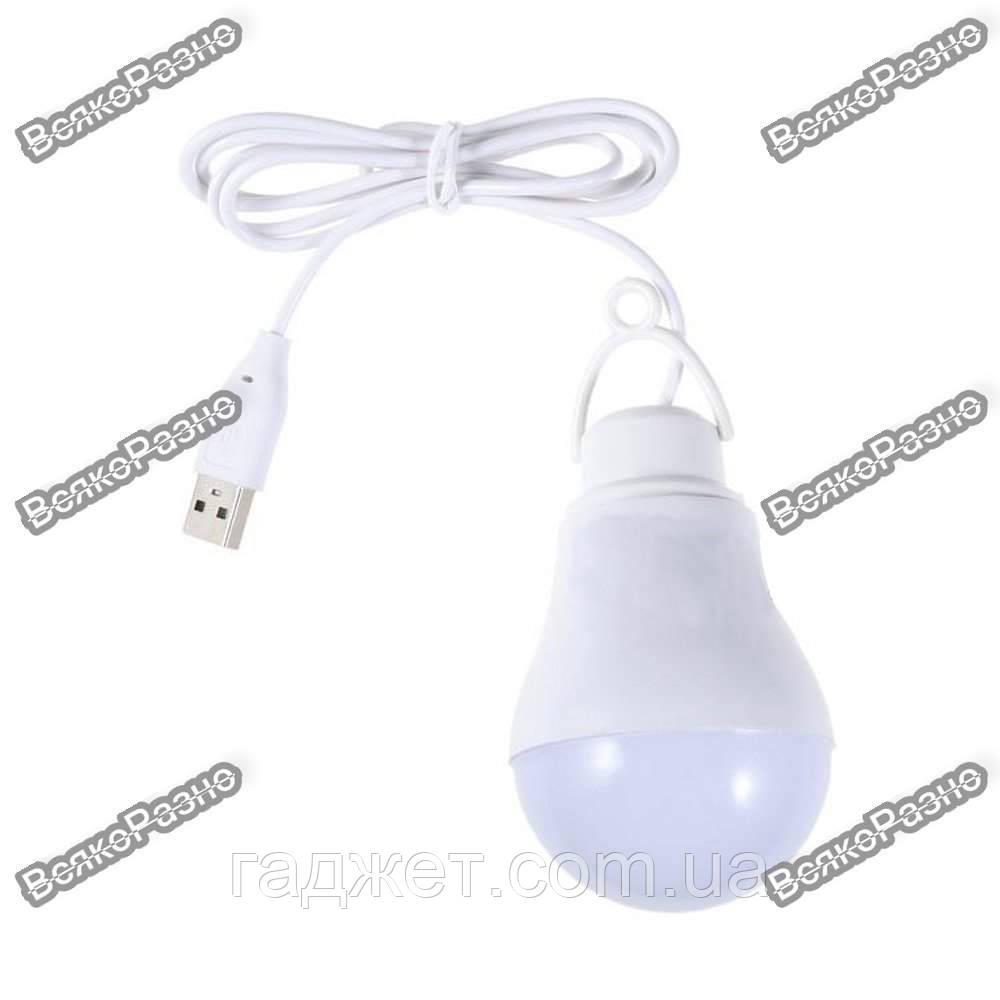 USB лампа 5Вт белого цвета