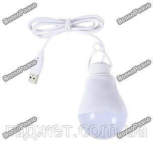 USB лампа 5Вт белого цвета, фото 2