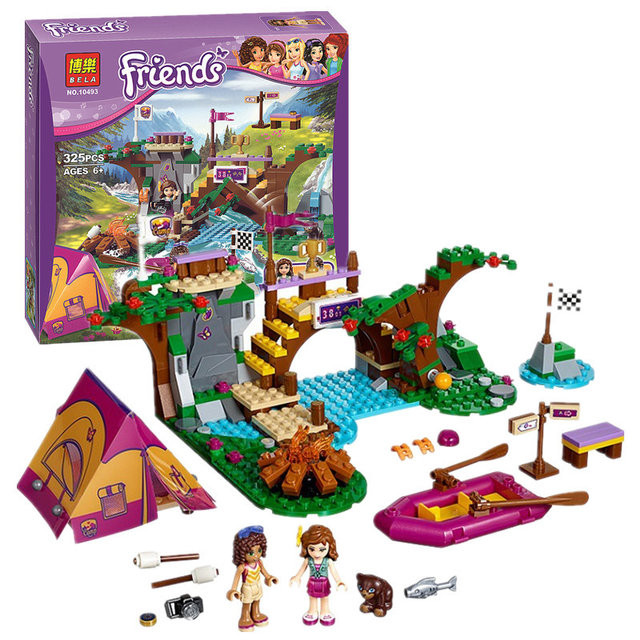 "Конструктор Bela Friends ""Спортивный лагерь"" арт. 10493 (аналог LEGO Friends 41121)"