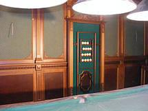 Декоративна обробка стін і стель деревом