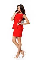 Женское платье Дениз с боковой баской