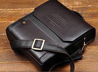 Мужская кожаная сумка. Модель 423, фото 2