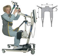 Cтропы пациента Transfer Stand Assist Sling Invacare, фото 1