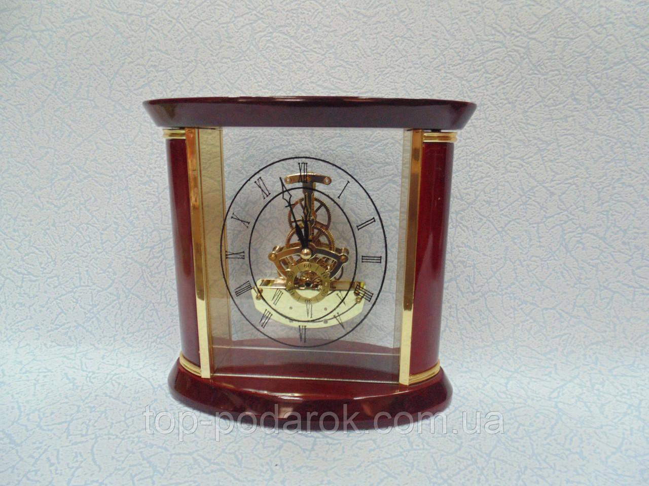 Настольные деревянные часы размер 20*20*9