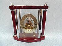 Настольные деревянные часы размер 25*22*9